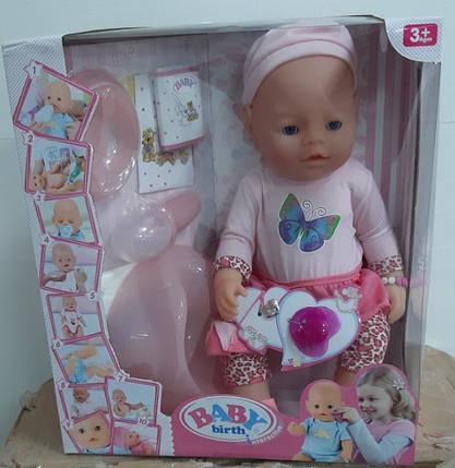 Лялька Пупс 9 функцій, 9 аксесуарів, фото 2