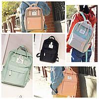 Стильный молодежный женский водонепроницаемый рюкзак-сумка Wawal College, 5 цветов