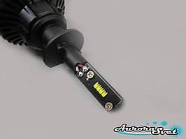 LED лампи в автомобіль. 1 шт. Краща альтернатива ксенону. LED фари ZES 2. LED лампи на авто. H-1.