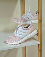 Кросівки Adidas Ultra Boost White/Pink