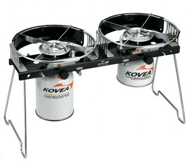 Плита газовая туристическая двухконфорочная Kovea Handy Twin Stove KB-N9110