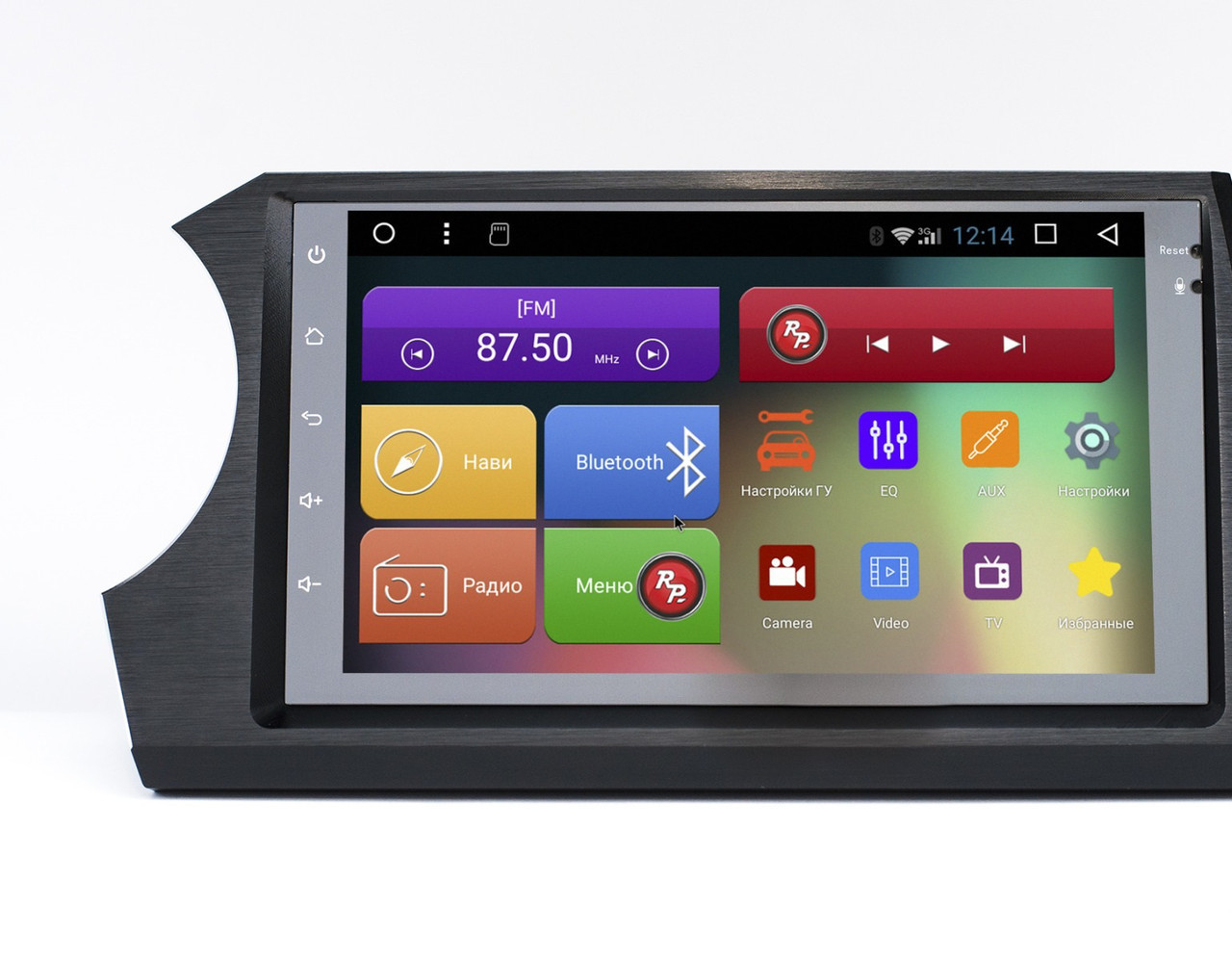 Штатное головное устройство для Ssang Yong Kyron (Korando) Android 7.1.1 (Nougat) RedPower 31158 IPS