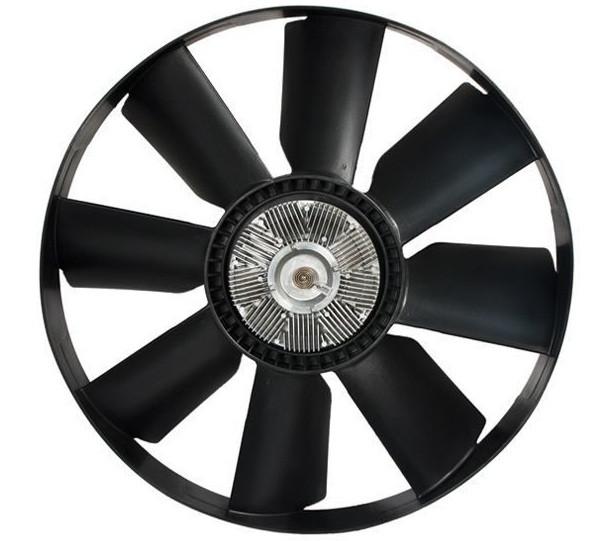 020002741Муфта вязкостная с вентилятором (660мм) (ДК)