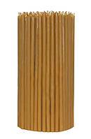 Церковные свечи 100% воск (230шт). Ø 6*16,5 см