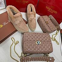 Женская сумочка Valentino Garavani Rockstud (реплика), фото 1