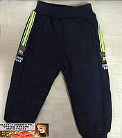 Спортивные штаны утепленные для мальчика мишки 1, 2, 3, 4, 5 лет