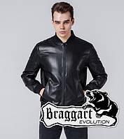 Braggart 1708   Мужская ветровка черная