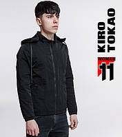 11 Kiro Tokao | Ветровка японская для мужчин 3353 черный