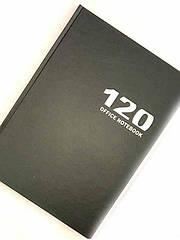 Книга канцелярская 120л (клетка) Мандарин пантонная обложка