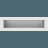 Вентиляционная решетка Люфт 6х20 см белая