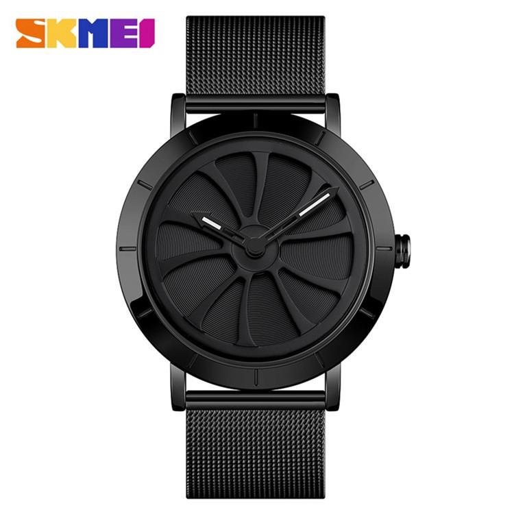 Skmei 9204 черные  наручные часы