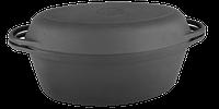 Утятница с крышкой-сковородой (320х200х130, V=5л)