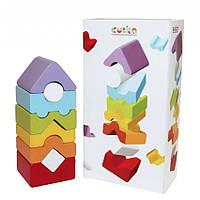 Деревянная игрушка Пирамидка LD-12 Cubika 15009