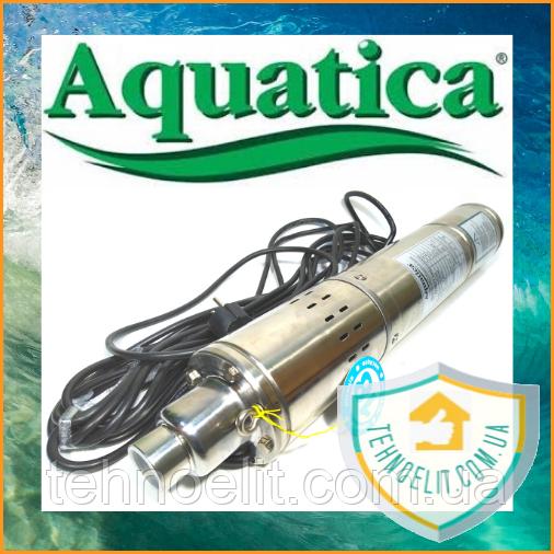 Шнековый насос для скважины AQUATICA 4QGDM 1.2-50-0.37 (778211).