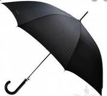 Зонт-трость черный  (10 шт склад)