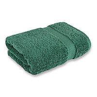 Рушник махровий 500г/м2 темно-зелений 40х70см