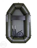 Лодка пвх надувная одноместная облегченная гребная omega дельта 190