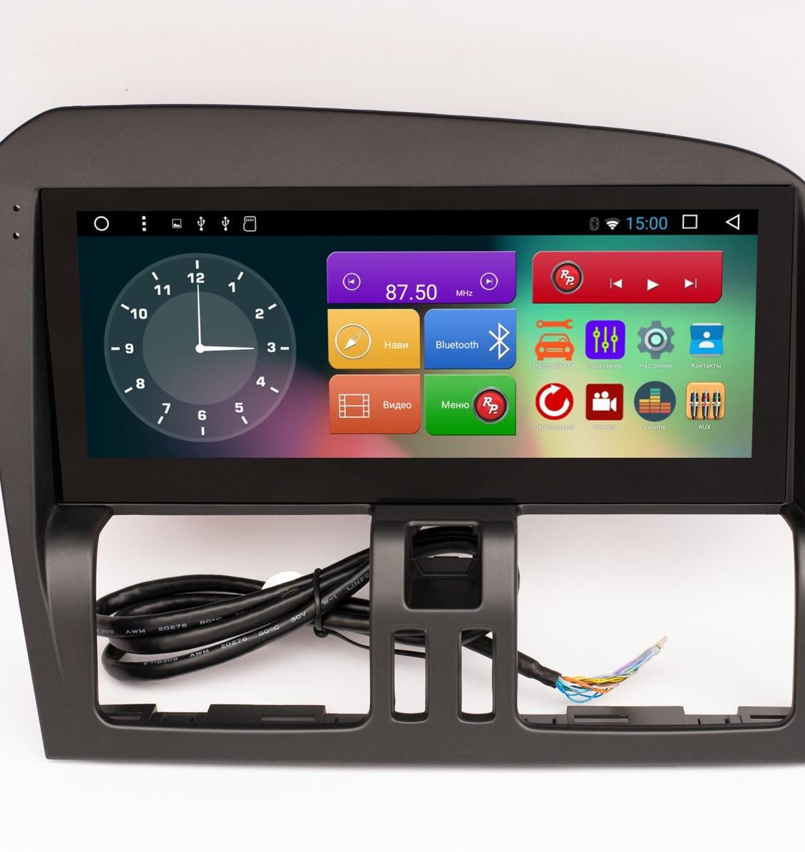 Штатная автомагнитола для Volvo XC60 на android 6.0.1 RedPower 31160 IPS