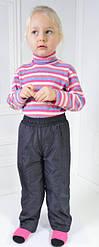 Демисезонные штанишки Канада на флисе р.98-140
