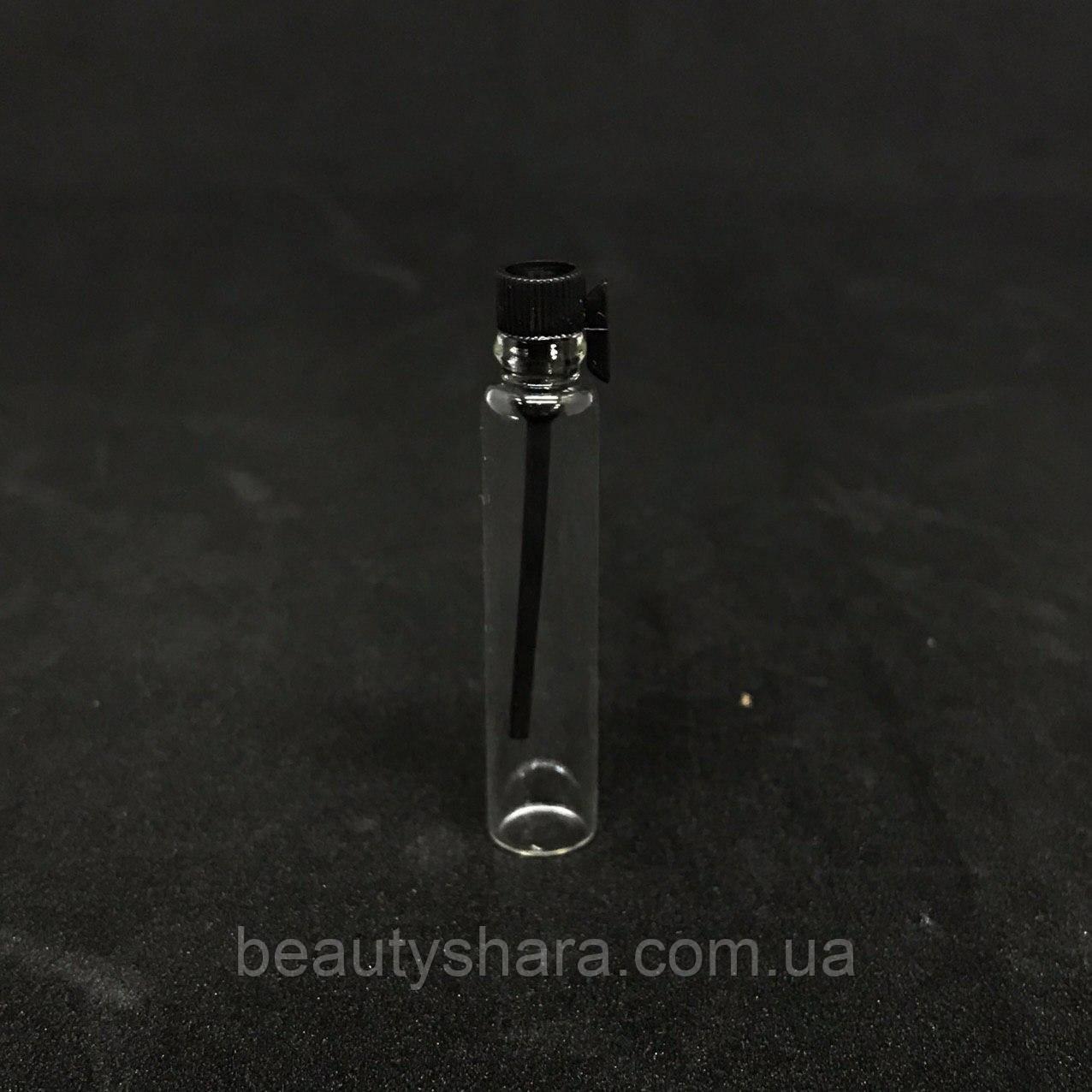 Стеклянный пробник 2мл (черный)