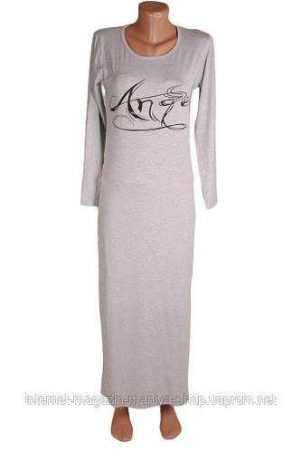 Женское платье с накатом из трикотажа опт