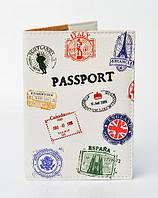 Обложка на паспорт Штампы