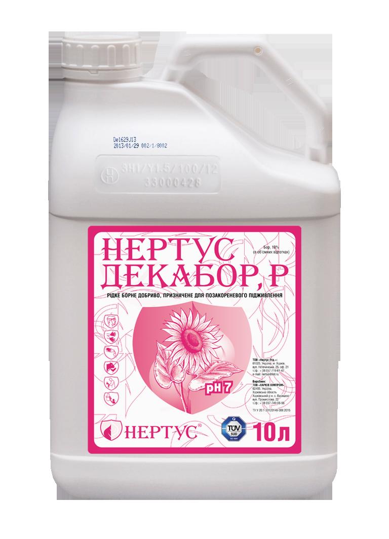Жидкое удобрение Нертус Декабор 10 л