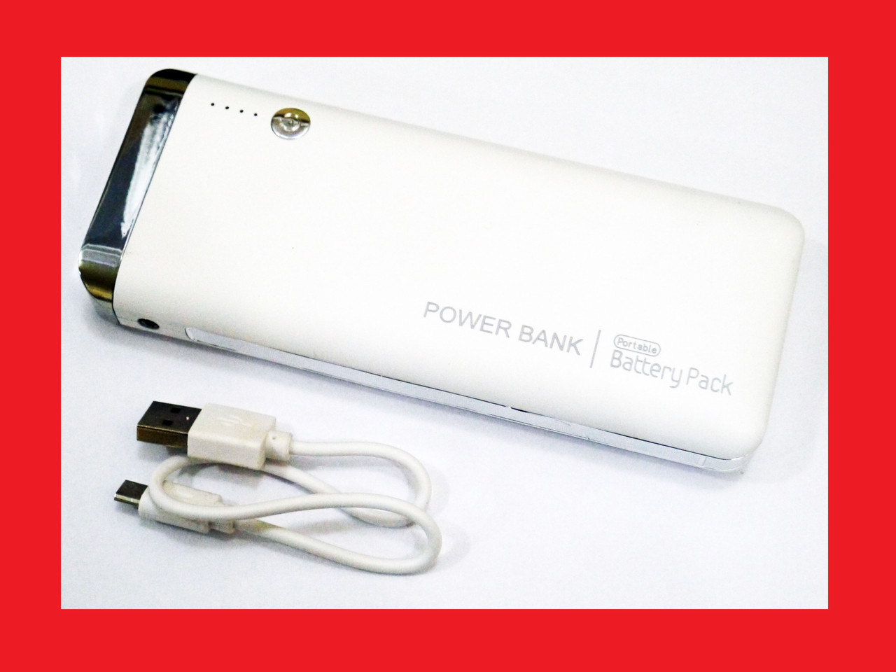 Power Bank 20000 mAh 3xUSB Глянец