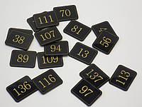 Номерки на шкафчики с гравировкой 50*40 мм, фото 1