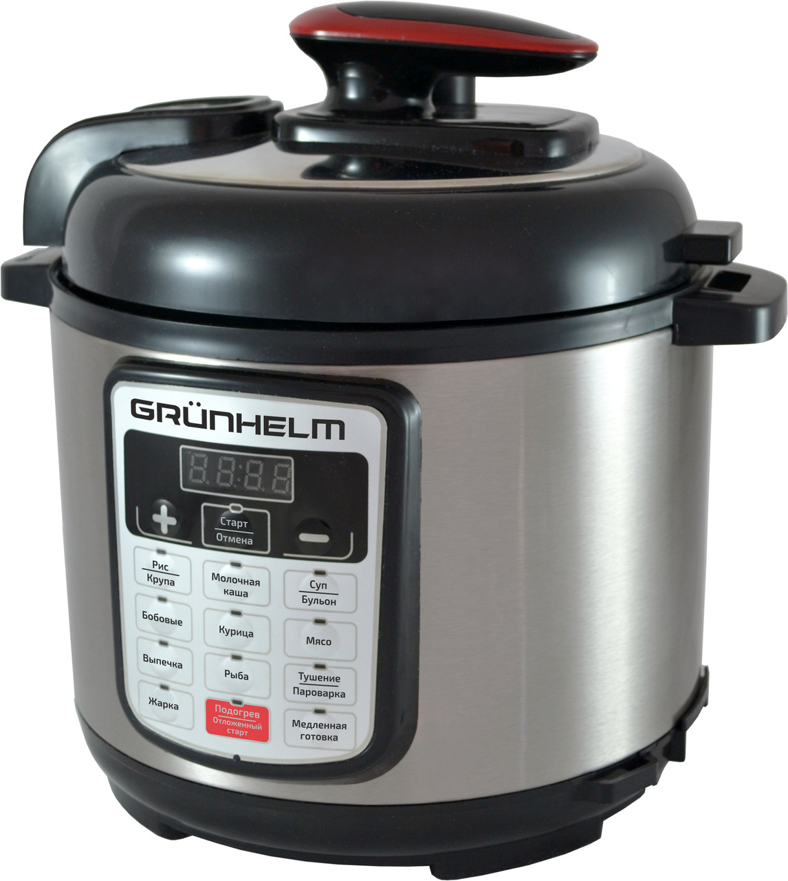 Мультиварка-скороварка GRUNHELM MРC-15В,13 программ,4 литра 900Вт ( Гарантийный срок 24 мес )