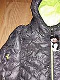Мужская куртка-ветровка р.S (44-46), фото 3