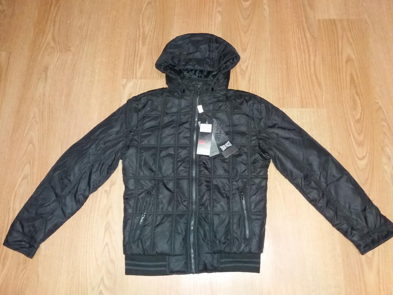 Мужская демисезонная куртка Tiger Ficco черная р.50