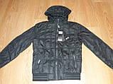 Мужская демисезонная куртка Tiger Ficco черная р.50, фото 2