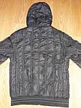 Мужская демисезонная куртка Tiger Ficco черная р.50, фото 3