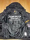 Мужская демисезонная куртка Tiger Ficco черная р.50, фото 4