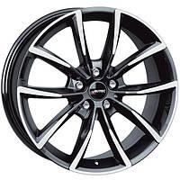 Литые диски Autec Astana R17 W7 PCD5x108 ET50 DIA63.4 (black polished)