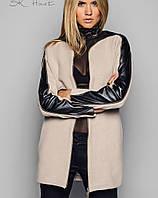 Пальто стильное женское  | Dsquared змейка sk