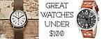 Как выбрать и купить недорогие часы до 100 долларов