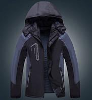 Мужская демисезонная влагозащитная куртка с капюшоном, фото 1