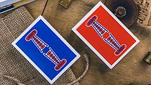 Карты игральные | Vintage Feel Jerry's Nuggets (Blue) Playing Cards, фото 2