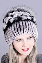 Зимові жіночі хутряні шапки