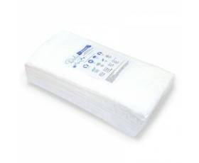 Одноразовые полотенца Doily 40х70см (40г/м2), для парикмахерских, гладкие, 50 шт в пачке