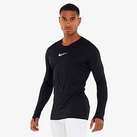 Термокофта Nike Park First Layer Top langarm AV2609-010 с длинным рукавом черная (Оригинал)