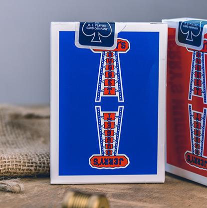 Карты игральные | Vintage Feel Jerry's Nuggets (Blue) Playing Cards