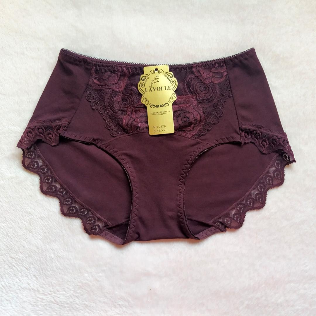 Трусики Lavolle пурпурно-фиолетовые размер 48-50