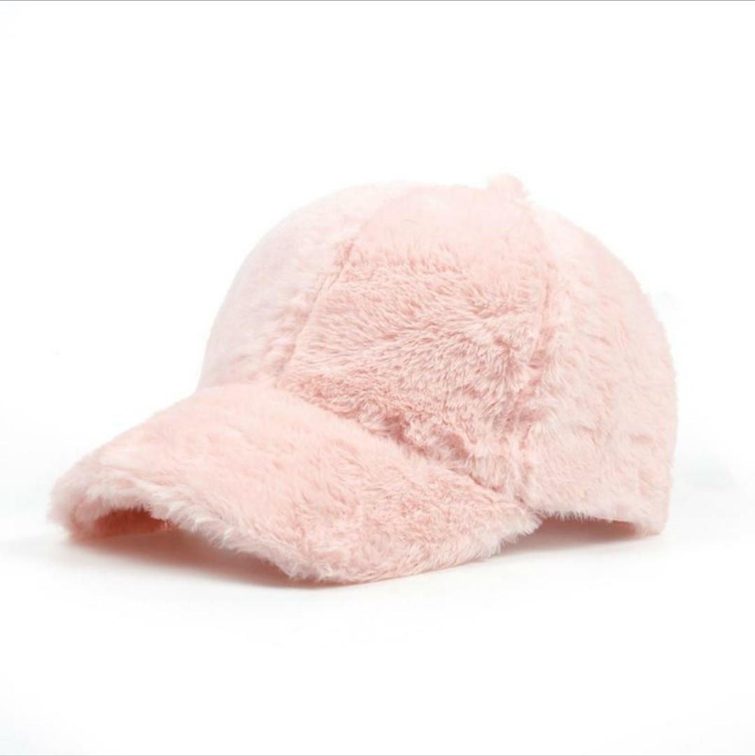 Бейсболка женская розовая