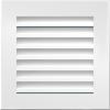 Вентиляционная решетка Kratki FRESH 17х17 белая