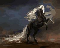 Картины по номерам 40 × 50 см. Чудный конь Худ Бенедиктов Владимир