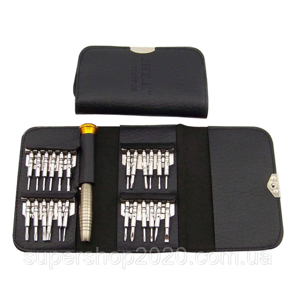 Набір для ремонту мобільних телефонів,24 шт +чохол