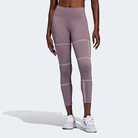 Женские леггинсы Adidas Legging Longa Mesh Believe This 2.0 Geo FJ7177 2020